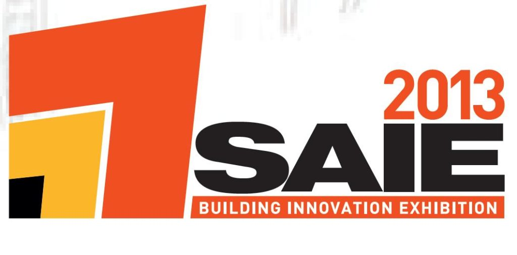 SAIE 2013 Building Innovation Exhibition held at Bologna Fiere, 22 to 25 October 2013.