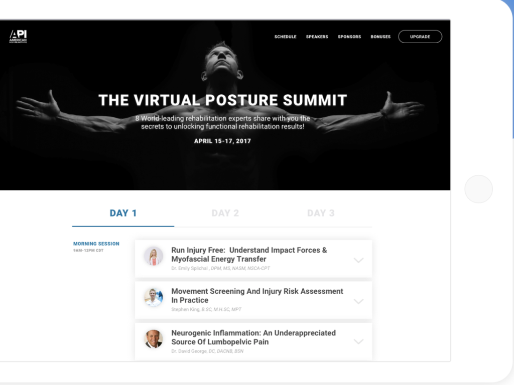 virtual summit software